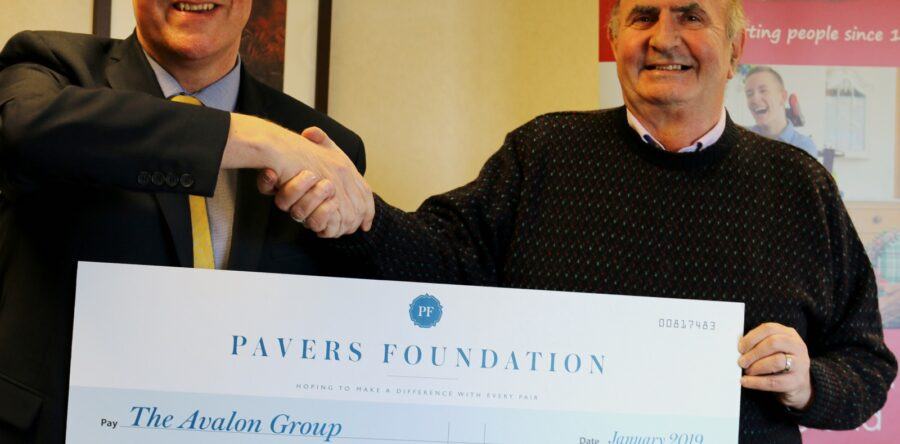 The Avalon Group Receives Donation to Fund New Project