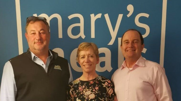 Pavers Foundation Donates to Mary's Meals