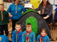 New tents for Llangollen Scout Group following £1,000 donation