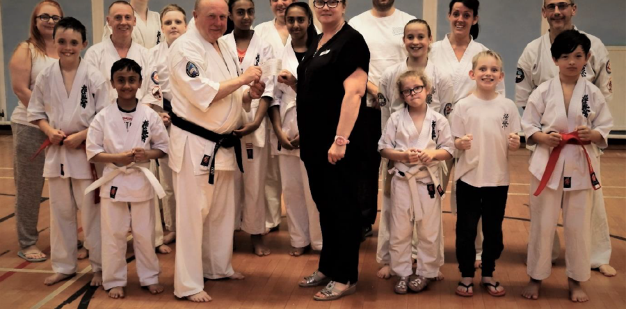 Pavers Foundation Supports Cwmbran Kyokushinkai Karate