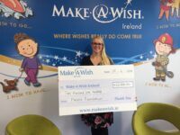 Make a Wish Ireland Receives £2,500 Following Employee Vote