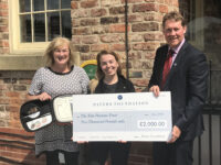 The Pavers Foundation funds a defibrillator for The Tom Parsons Trust