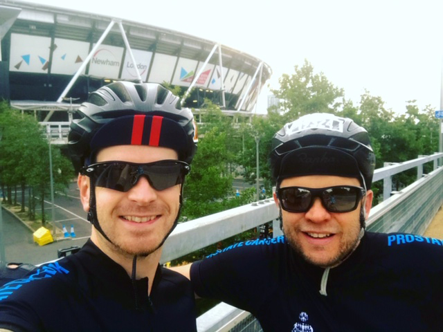 Tour De Pavers: Supporting Prostate Cancer UK