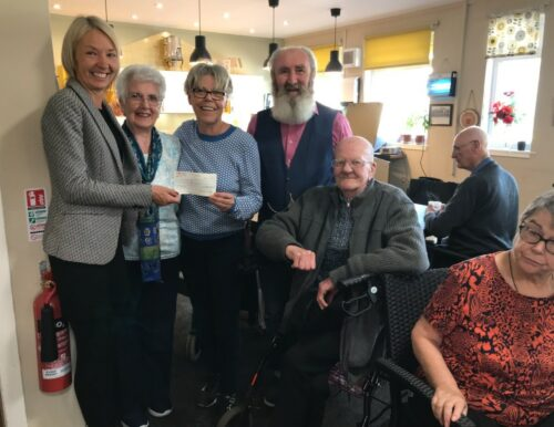 Supporting Older People with The Grassy Riggs group
