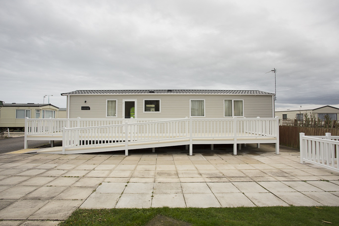 A fully adapted and accessible static caravan.