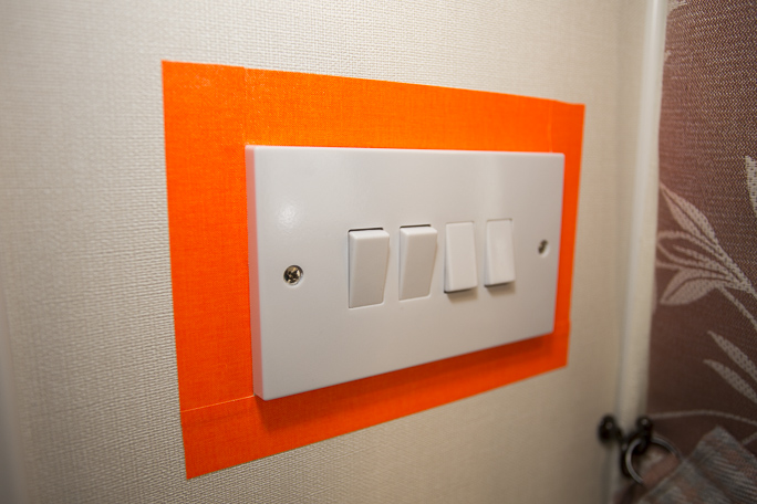 An adapted light switch