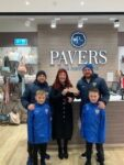 Pencoed Under 8's Boys and Girls Club are all set for a rainy day!