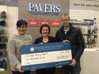 Pavers Foundation helps out Isle of Wight- based charity with £5,000 grant