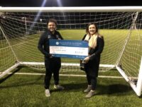 Bishopthorpe United Kick off the Season with a Local Donation