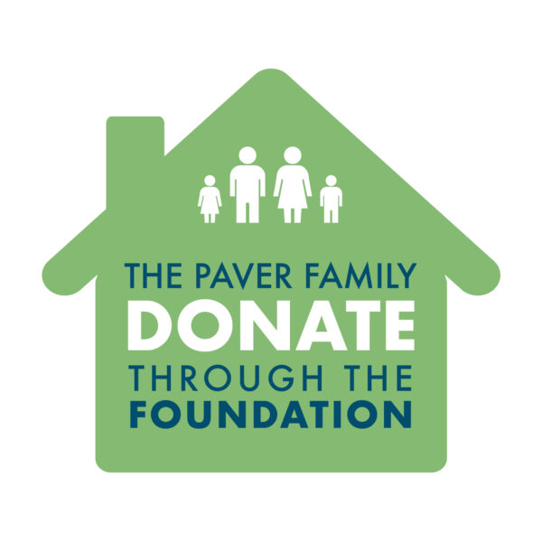 The Paver Family Donate through the Foundation